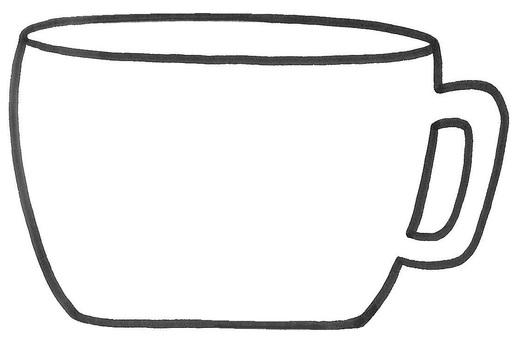 Cup memo cup