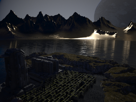 Night of Twin Planet Base