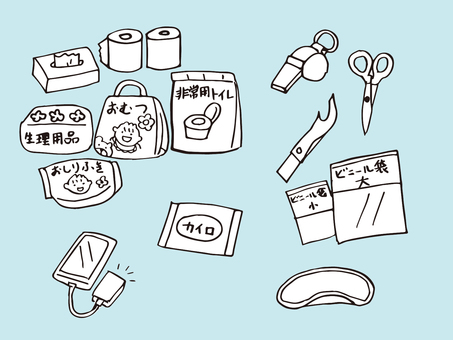 Disaster prevention goods 04