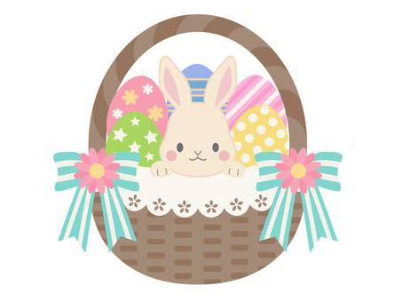 Easter illustration material