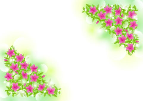Azalea sparkle background