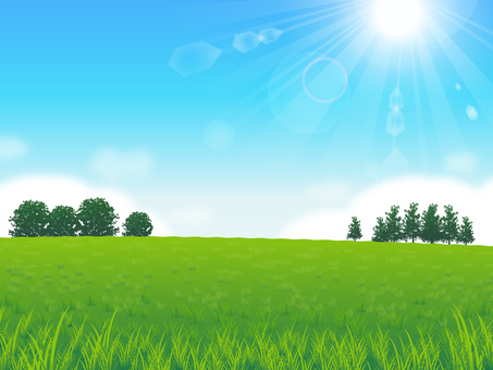 Fresh sky and grassy background 04