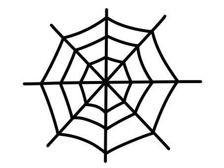 Spider web (silhouette)
