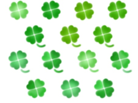 Four-leaf clover (set)