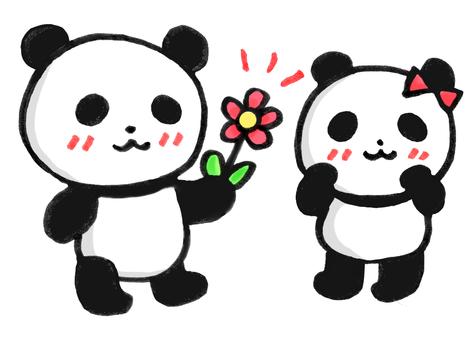 Have a flower panda 2