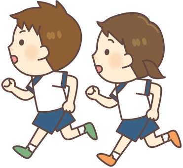 Gym suit clothes _ Running boys · Girls