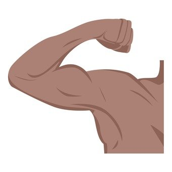 Diet - male arms