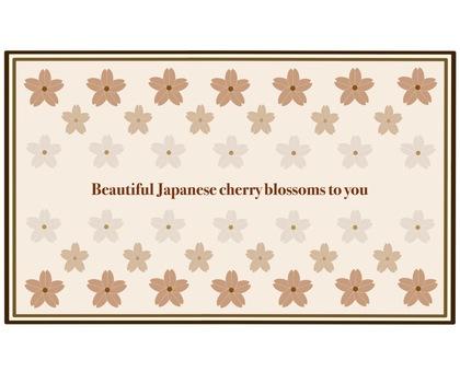 Sakura Frame ② Sepia