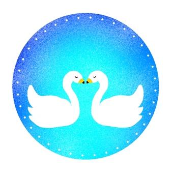 Icon, swan