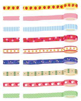 Line masking tape