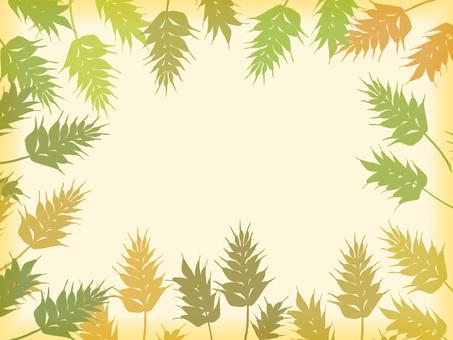보리 카드 (녹색)