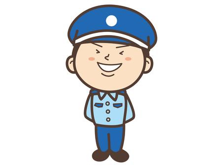 C011_ guard man