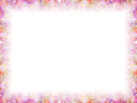 Mixing dots 93 (Pink Frame)