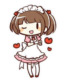 Moe maid (pink)
