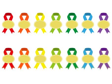 Various ribbons 9