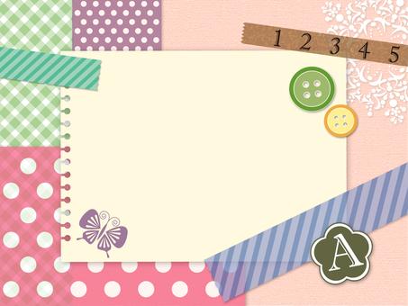 Girly post card