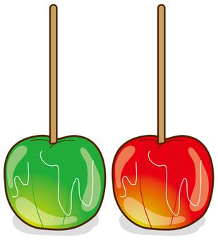 Apple candy