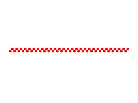 Red dot line (2 rows)