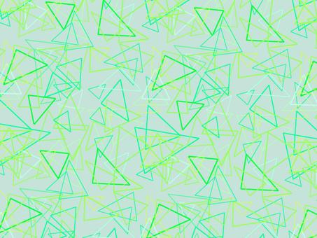 Triangle pattern ‗ green