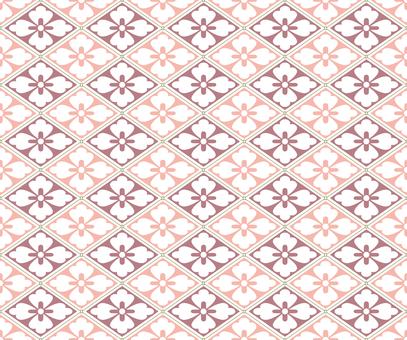 일본식 디자인 원활한 패턴 집 花菱 05