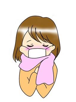 A feverish lady