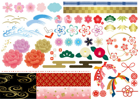 Japanese Pattern Parts 2