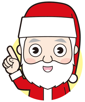 Pointing Santa Claus (commentary)