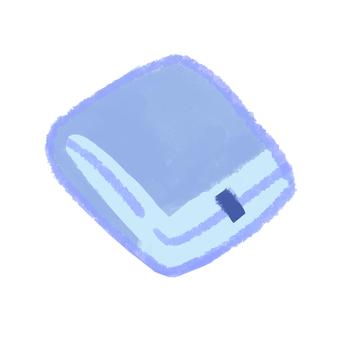 Sanitary napkin night blue