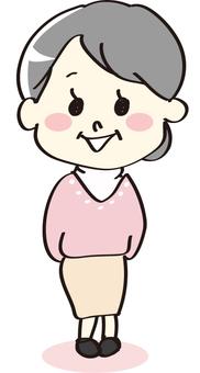 Granny whole body
