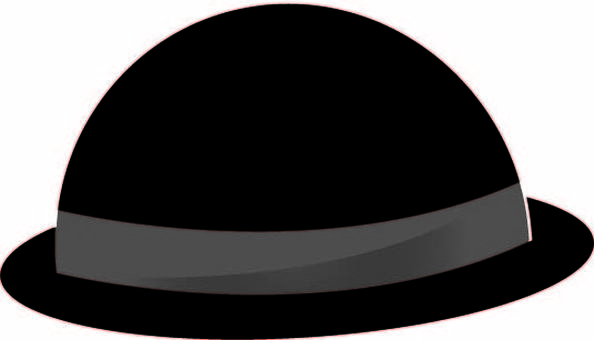 Bad felt hat style hat