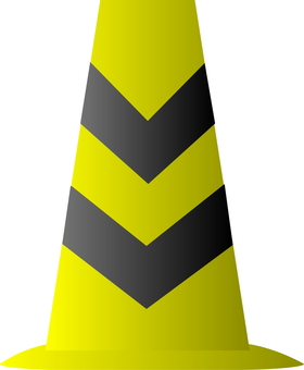 Triangular color cone
