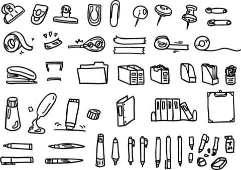 86 Stationery accessories