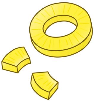 Pineapple round cut