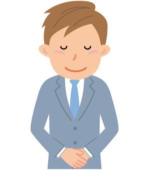 70625. Male employee, upper body 30