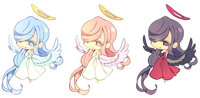 An angel girl illustration