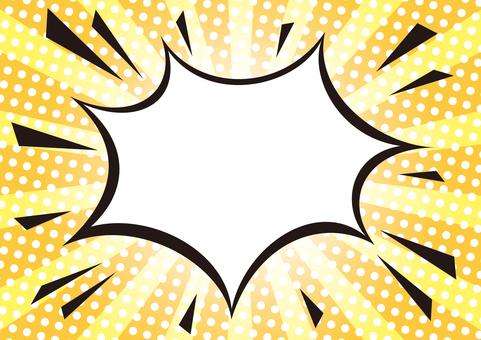 Amekomi style speech balloon _ 04