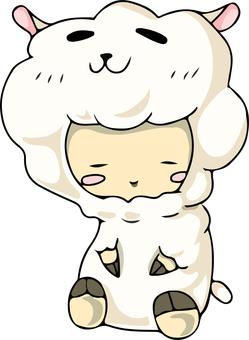 Costume sheep