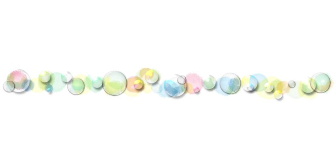 Soap bubble line