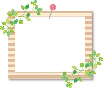 Plant photo frame