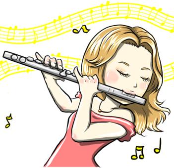 Flute · female