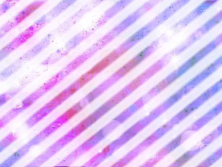 Diagonal stripes purple