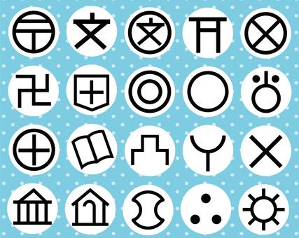 Map symbol set 3