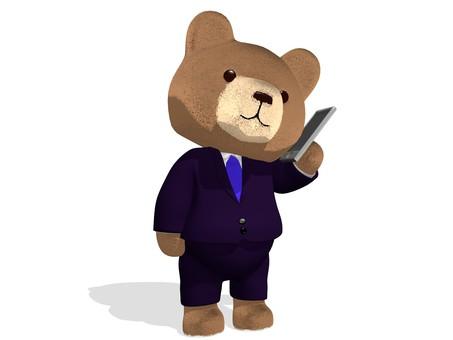 Teddy Bear · Businessman · Smaho