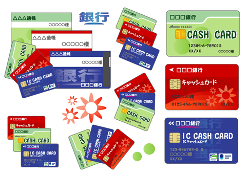 Passbook & Cash Card Set-02