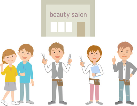 90526. Beauty salon relations 1
