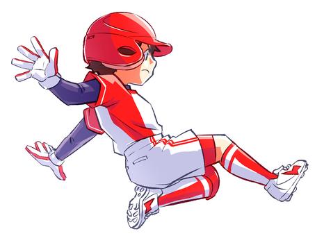 Softball sliding