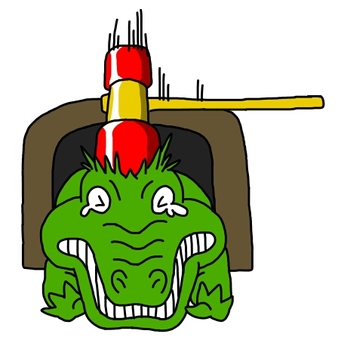 Crocodile beating game