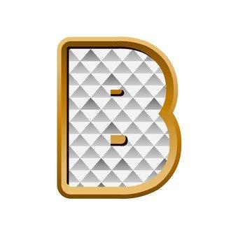B (upper case)