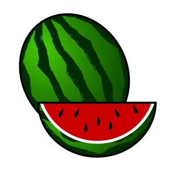 A watermelon