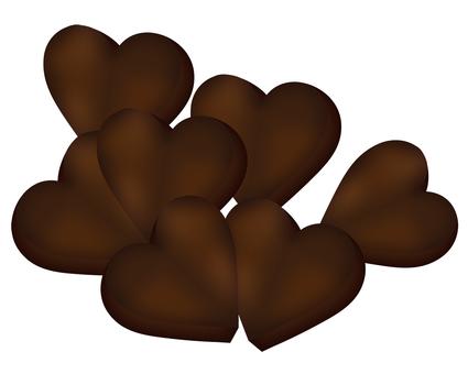 Heart Chocolate 2